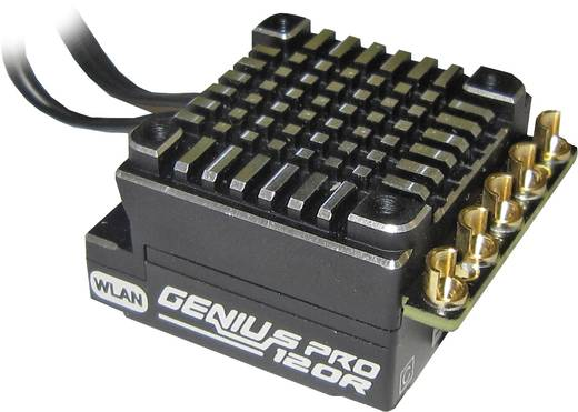 Automodell Brushless Fahrtregler Graupner Genius Pro 120 Belastbarkeit (max.): 424 A