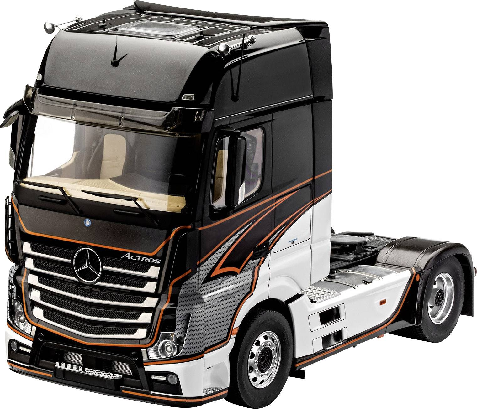 Betere Revell 07439 Mercedes-Benz Actros MP4 Automodell Bausatz 1:24 kaufen OT-99