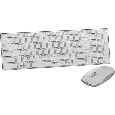 Funk-Tastatur,- Maus-Set Rapoo X9310 Blade Weiß Preisvergleich