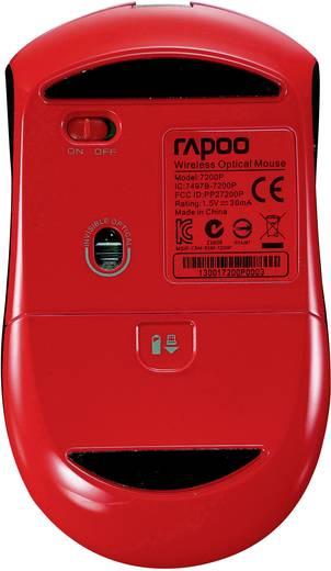 Rapoo 7200P Funk-Maus Optisch Rot