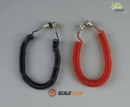 Thicon Models 50179 1:14 Druckluft-Kabel Satz rot/schwarz 1 Paar