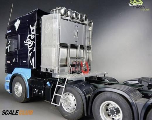 Thicon Models 55018 1:14 Schwerlastturm V8 Scania Edelstahl mit Türen unlackiert 1 St.