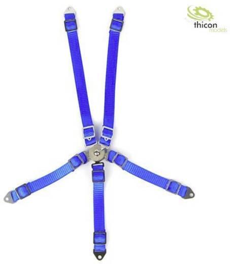 Thicon Models 20096 1:10, 1:14 Sicherheitsgurt blau 1 St.