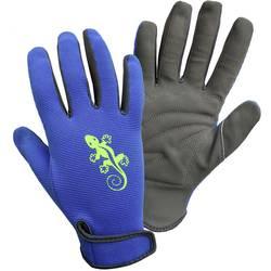 Image of FerdyF. Garden-Gecko 1433-H Kunstleder Gartenhandschuh Größe (Handschuhe): Herrengröße 1 Paar