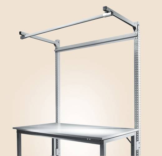 Manuflex ZB3844.9006 Aufbauportal UNIVERSAL-SPEZIALu.ERGO 2100mm Anbaueinheit mit Stabilisierungs-Strebe 996mm für Tisch