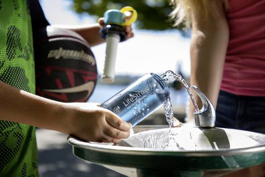 LifeStraw Wasserfilter Kunststoff 006-6002125 Play 2-Stufig (stormy)