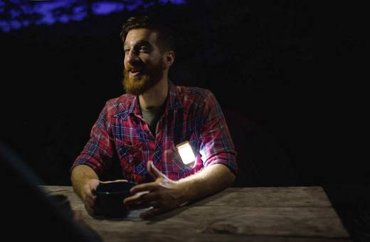 LED Camping-Leuchte BioLite PowerLight Mini (Aquamarin) Aquamarin 006-6001115
