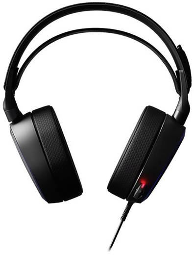 Gaming Headset 3.5 mm Klinke, USB schnurgebunden Steelseries Arctis Pro Over Ear Schwarz