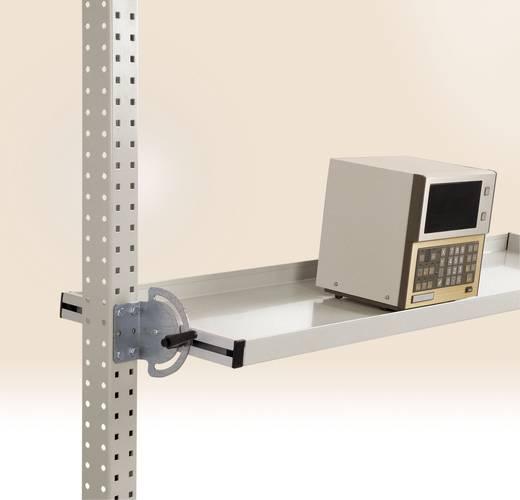 Manuflex ZB3920.9006 Neigbare Ablagekonsole 1839x345 mm Weißaluminium