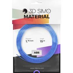 Sada vlákien pre 3D tlačiarne, 3D Simo 3Dsimo-ABS-1, ABS plast , 1.75 mm, 120 g, modrá, zelená, žltá