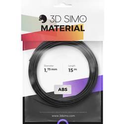 Sada vlákien pre 3D tlačiarne, 3D Simo 3Dsimo-ABS-2, ABS plast , 1.75 mm, 120 g, oranžová, čierna, biela