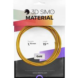 Vlákno pre 3D tlačiarne, 3D Simo 3Dsimo Gold, 1.75 mm, 40 g, zlatá