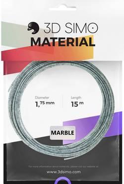 Image of 3D Simo 3Dsimo-Marble Filament 1.75 mm Marmor-Grau 40 g
