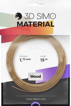 Image of 3D Simo 3Dsimo Wood Holz braun Filament 1.75 mm Holz 40 g