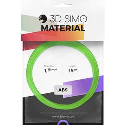 Image of 3D Simo 3Dsimo ABS Transparent grün, lila & gelb Filament-Paket ABS 1.75 mm 120 g Grün (transparent), Gelb