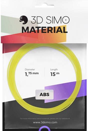 3D Simo 3Dsimo ABS Transparent grün, lila & gelb Filament-Paket ABS 1.75 mm Grün (transparent), Gelb (transparent), Li
