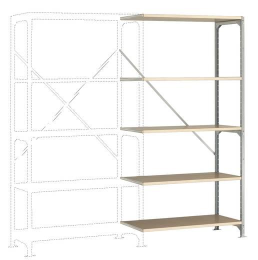 Manuflex RM4127 Fachbodenregal-Anbaumodul (B x H x T) 970 x 2000 x 400 mm Stahl verzinkt Verzinkt Holzboden