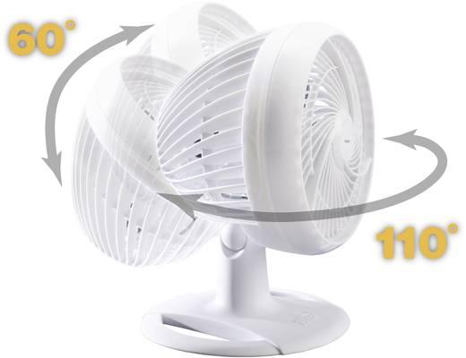 Tischventilator Honeywell HT907E 37.7 W (Ø x H) 26 cm x 35.7 cm Weiß