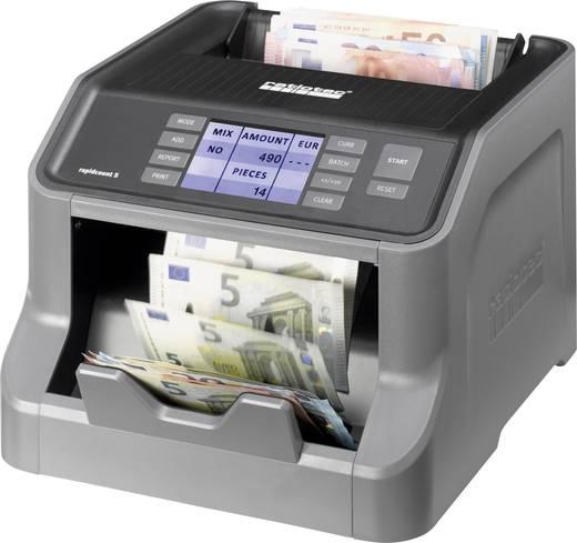 Geldzähler, Geldscheinprüfer Ratiotec rapidcount S 225 für Banknoten, Bündelfunktion, Update-fähig, TFT-Farbdisplay