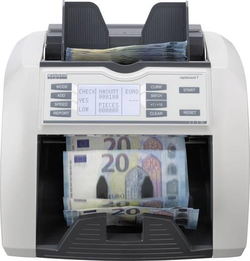 Geldzähler, Geldscheinprüfer Ratiotec rapidcount T 200 für Banknoten, Bündelfunktion, Update-fähig