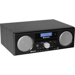 DAB+ stolní rádio Roadstar HRA-9D+BT, AUX, Bluetooth, USB, FM, CD, černá