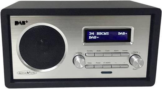 DAB+ Tischradio Reflexion HRA1255DAB AUX, UKW Schwarz