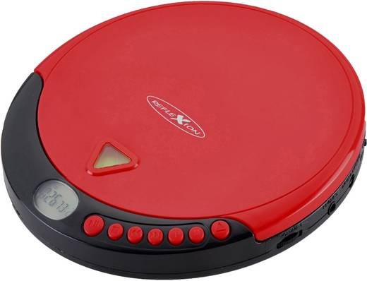 Tragbarer CD-Player Reflexion PCD500MP CD, CD-R, CD-RW, MP3 Rot