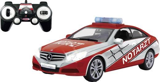 Jamara 405130 Mercedes E350 Coupe Notarzt 1:16 RC Einsteiger Modellauto Elektro Einsatzfahrzeug