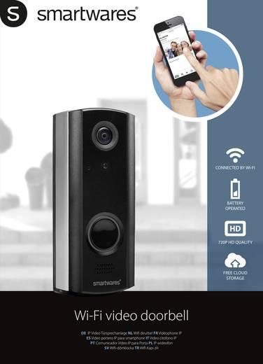smartwares dic 23216 ip video t rsprechanlage funk wlan au eneinheit 1 familienhaus schwarz. Black Bedroom Furniture Sets. Home Design Ideas