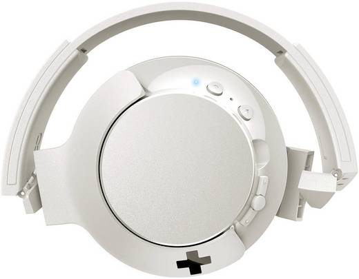 Kopfhörer Philips SHL3175WT/00 Over Ear Faltbar, Headset, Lautstärkeregelung, Noise Cancelling Weiß