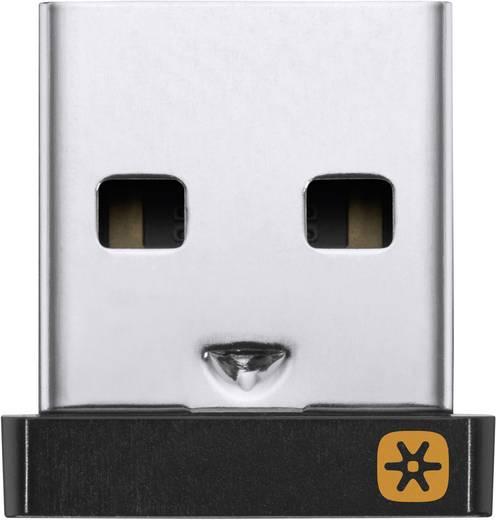 USB-Funk-Empfänger Logitech Pico USB Unifying Receiver Schwarz
