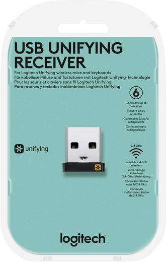 Logitech Pico USB Unifying Receiver USB-Funk-Empfänger Schwarz