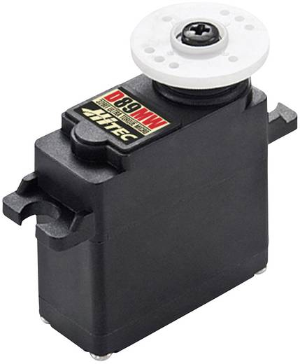 Hitec Mini-Servo D89MW Digital-Servo Getriebe-Material: Metall