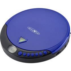 Prenosný CD prehrávač - diskman Reflexion PCD500MP, CD, CD-R, CD-RW, MP3, modrá
