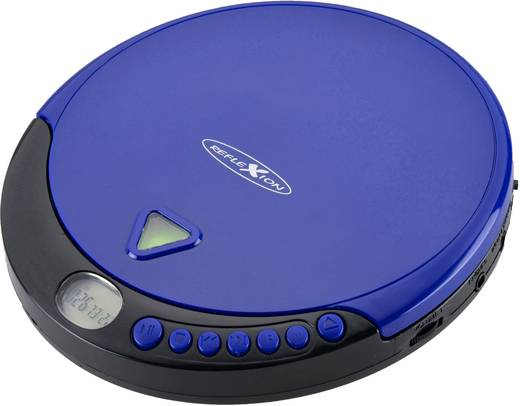 Tragbarer CD-Player Reflexion PCD500MP CD, CD-R, CD-RW, MP3 Blau