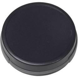 Plastová krabička TEKO SUI-TEK0A.29, 47 x 47 x 13.5 mm, plast, čierna, 1 ks