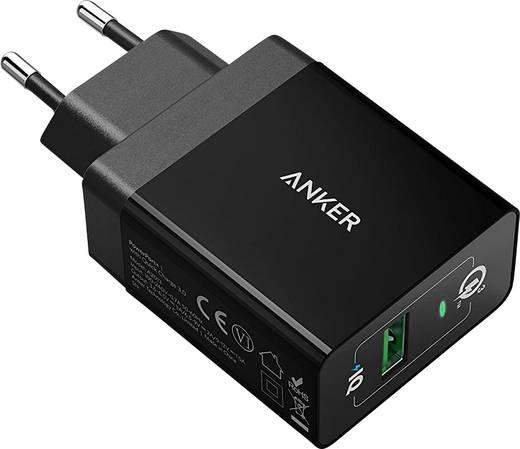 USB-Ladegerät Anker PowerPort+1 QC3.0 A2013311 Steckdose Ausgangsstrom (max.) 2400 mA 1 x USB Qualcomm Quick Charge 3.0