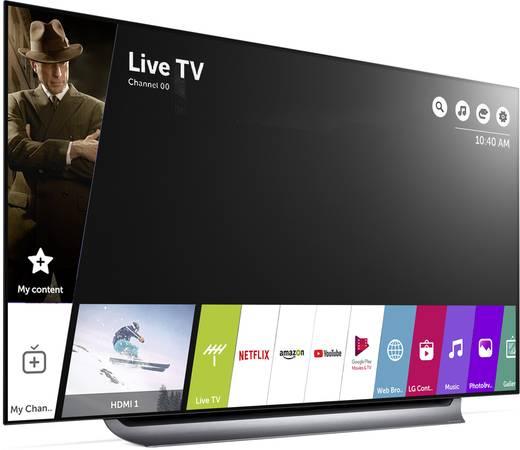 Lg Electronics Oled65c8 Oled Tv 164 Cm 65 Zoll Eek A A E Twin