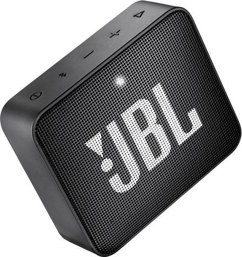 JBL Go2 Bluetooth® Lautsprecher AUX, Freisprechfunktion, Outdoor, Wasserfest Schwarz