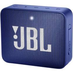 Bluetooth® reproduktor JBL Go2 AUX, hlasitý odposlech, outdoor, vodotěsný, modrá