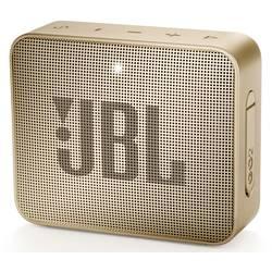 Bluetooth® reproduktor JBL Go2 AUX, hlasitý odposlech, outdoor, vodotěsný, champagne
