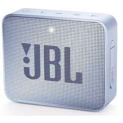 Bluetooth® reproduktor JBL Go2 AUX, hlasitý odposlech, outdoor, vodotěsný, azurová