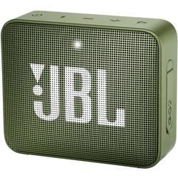 Bluetooth® reproduktor JBL Go2 AUX, hlasitý odposlech, outdoor, vodotěsný, zelená