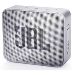 Bluetooth® reproduktor JBL Go2 AUX, hlasitý odposlech, outdoor, vodotěsný, šedá