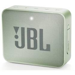 Bluetooth® reproduktor JBL Go2 AUX, hlasitý odposlech, outdoor, vodotěsný, mátová