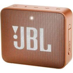 Bluetooth® reproduktor JBL Go2 AUX, hlasitý odposlech, outdoor, vodotěsný, oranžová