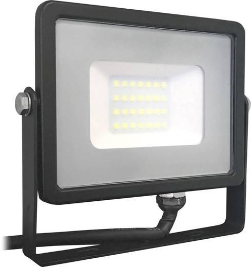 V-TAC LED-FL20-B-W-SMD-SA SKU 439/VT-20 LED-Außenstrahler 20 W Warm-Weiß Schwarz