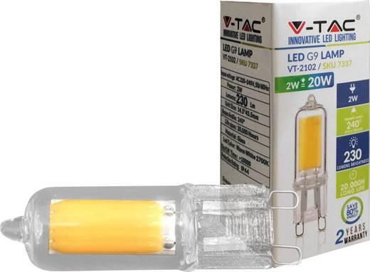 LED-Leuchtmittel LED G9 2 W V-TAC LED-G9-2-N-COB SKU 7338/VT-2102 Weiß