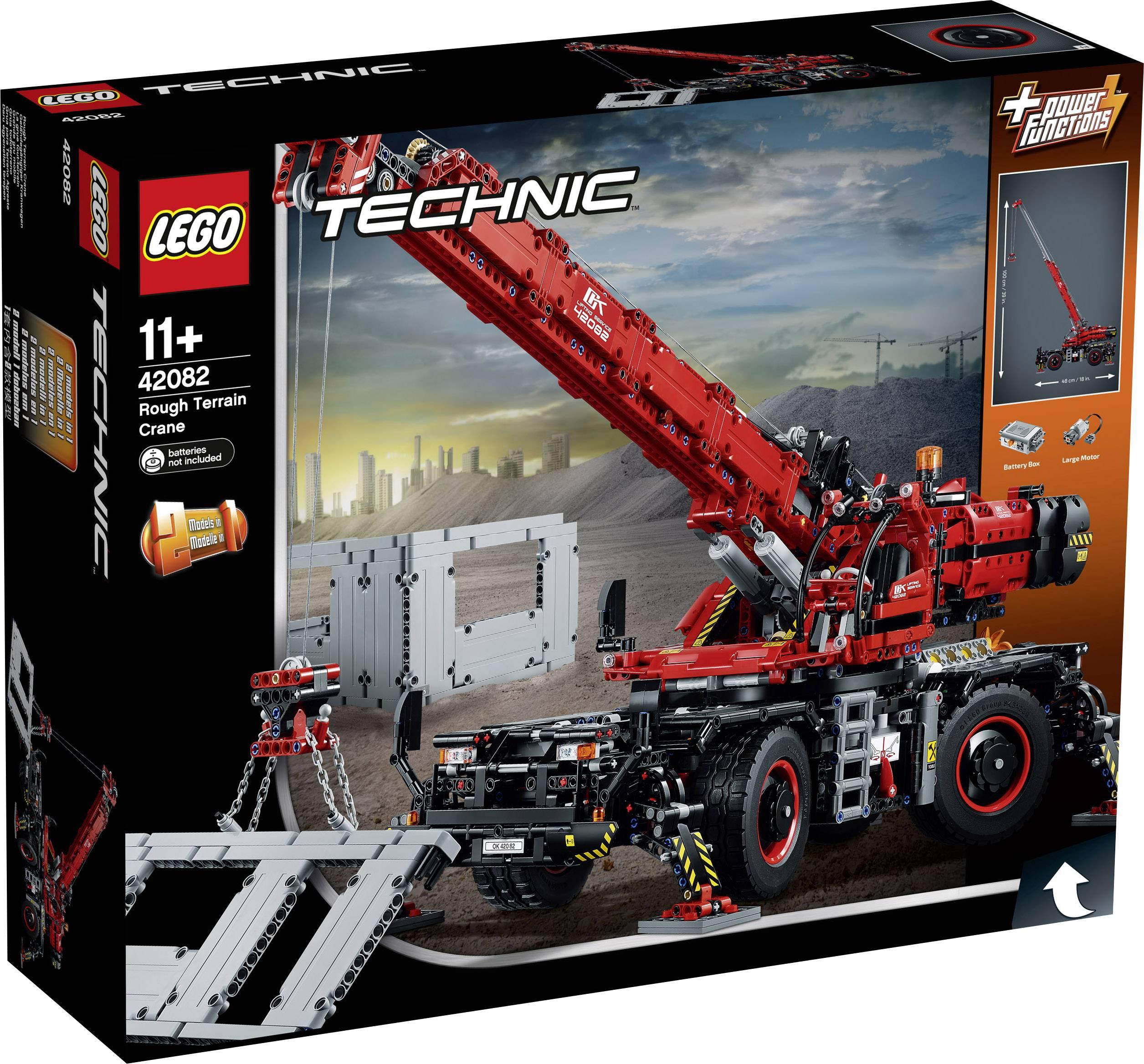 Lego Technic 42082 Geländegängiger Kranwagen Kaufen