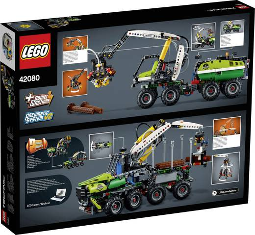 lego technic 42080 harvester forstmaschine kaufen. Black Bedroom Furniture Sets. Home Design Ideas